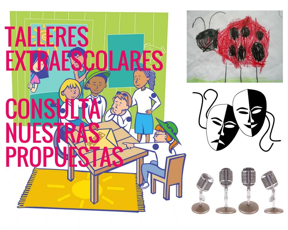 actividades extraescolares, culturales y educativas